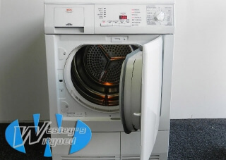 AEG  condensdroger met timer 6kg