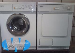Miele set wasmachine + Condensdroger