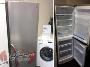 LG RVS koelkast